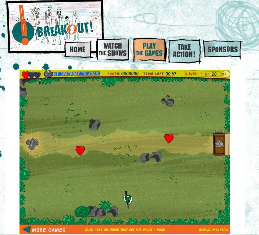 Breakout Online Gorilla Game